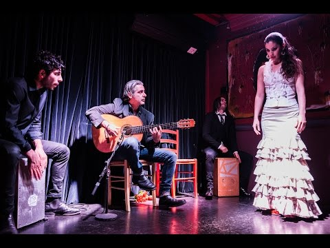 Amazing Flamenco dance and guitar at Kanela