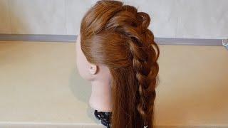 Fryzury Pazury - Irokez z warkocza