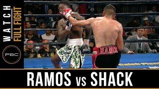 Ramos vs Shack FULL FIGHT: June 23, 2019 - PBC on FOX