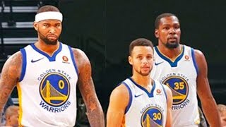 DeMarcus Cousins' Warriors Debut With Stephen Curry and Kevin Durant (Parody)
