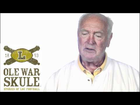 Dr. Billy Cannon talks about winning the 1959 Heisman Trophy.