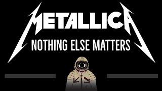 Metallica • Nothing Else Matters (CC) (Remastered Video) 🎤 [Karaoke] [Instrumental Lyrics]