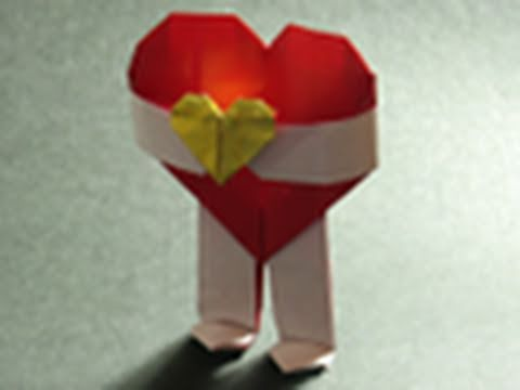 Valentines Day Origami Instructions Will You Be My Valentine