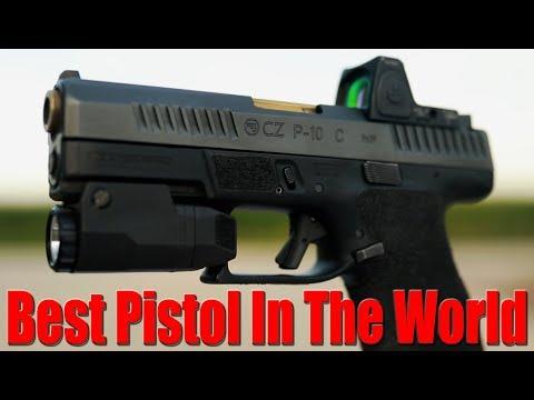 Custom CZ P10c: The Best Pistol in the World? 2017
