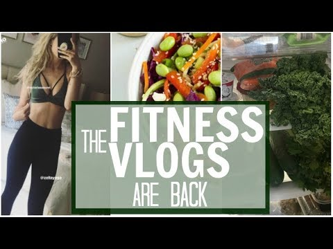 THE FITNESS VLOGS ARE BACK | Sweat it to Shred It & What I Eat in a Day