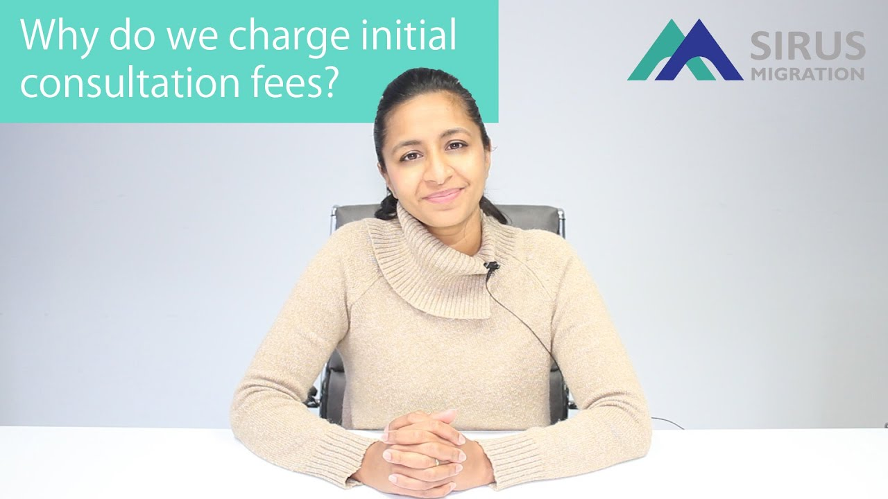 Why do we charge initial consultation fees?