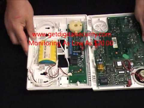 hqdefault ademco lynx battery replacement youtube lynxr wiring diagram at gsmx.co