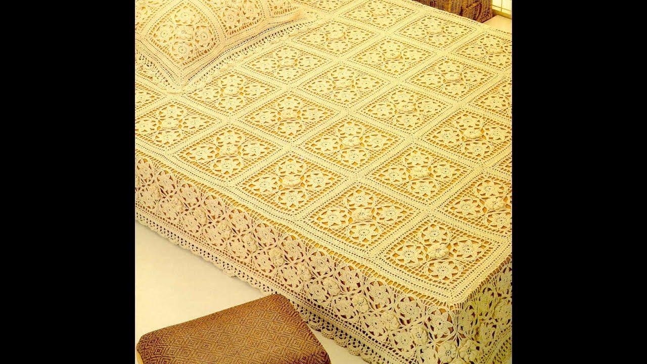 Free English Crochet Patterns For Free Crochet Bedspread 1703
