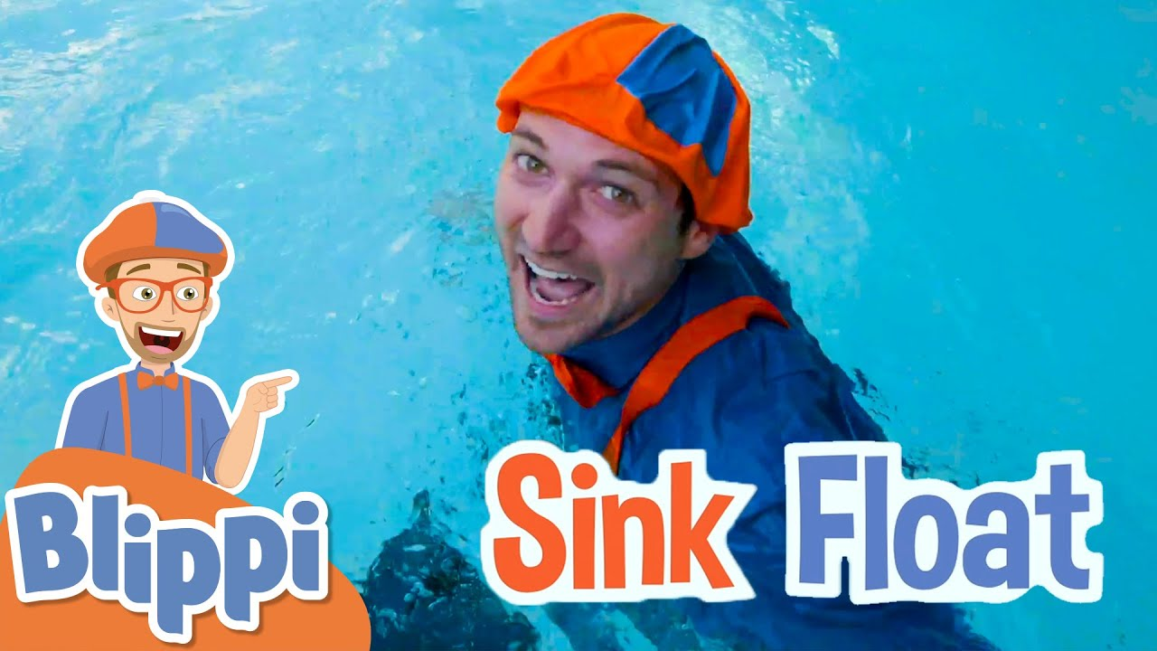 Sink or Float with Blippi! | Cool Science Experiment for Kids | Educational Videos For Toddlers