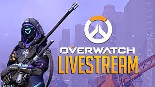 Ana New Overwatch Sniper Support Hero - Full Livestream