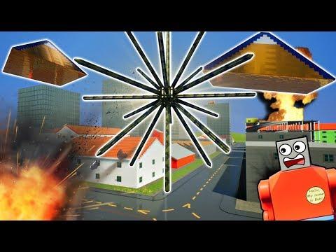 LEGO TENTACLE MONSTER DEVOURS WORLD! - Brick Rigs Gameplay Challenge & Creations - Lego Apocalypse