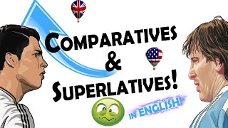 Comparative and Superlative Adjectives | ENGLISH GRAMMAR VIDEOS