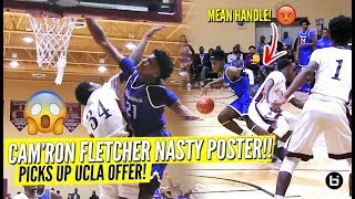 Kentucky Commit Cam'Ron Fletcher SHUTS THE CITY DOWN WITH NASTY POSTER!! Hoodie Rio NASTY Handl