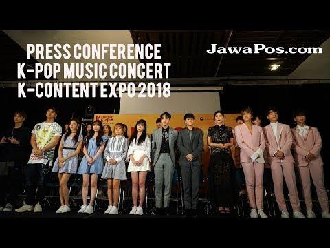 Konferensi Pers KPOP CONCERT Kocca Mp3