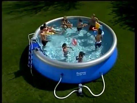 инструкция по установке надувного бассейна bestway