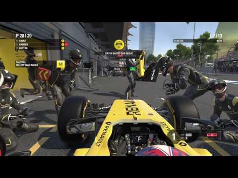 F1™ 2016 - Azerbaijan GP - Baku - Team  Renault - Race Camera