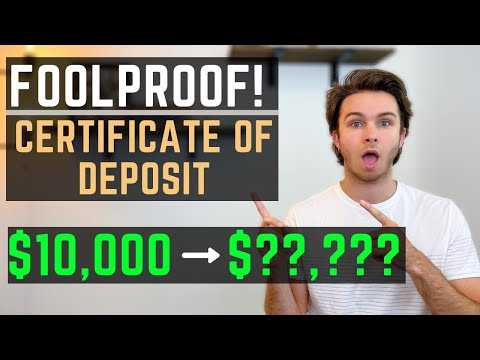 Certificate Of Deposit (CD) EXPLAINED: A FOOLPROOF Investment? [CD Rates]