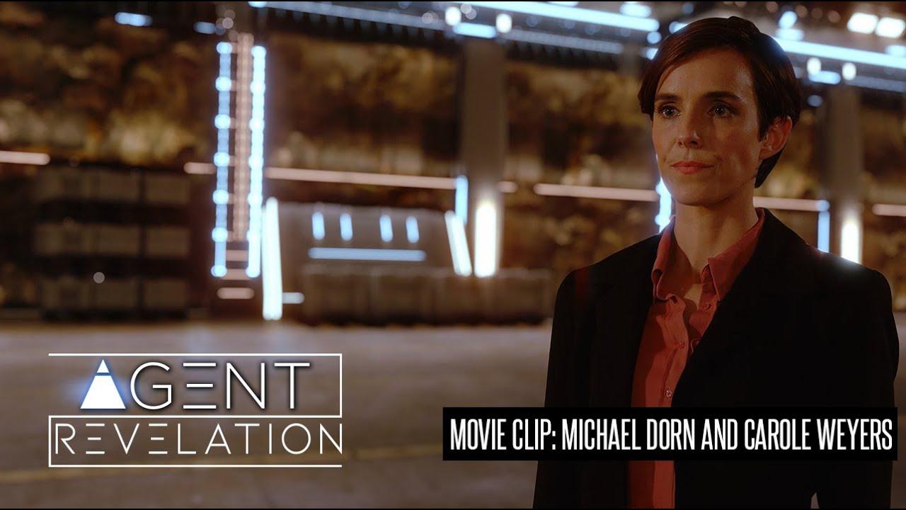AGENT REVELATION MOVIE CLIP  MICHAEL DORN, CAROLE WEYERS ENTRANCE SCENE
