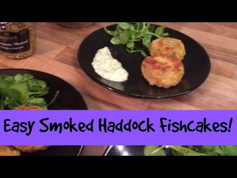 Easy Smoked Haddock Fishcakes