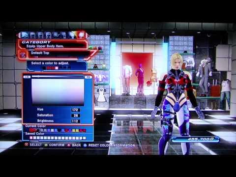 Tekken Tag Tournament 2 - Nina Character Customization