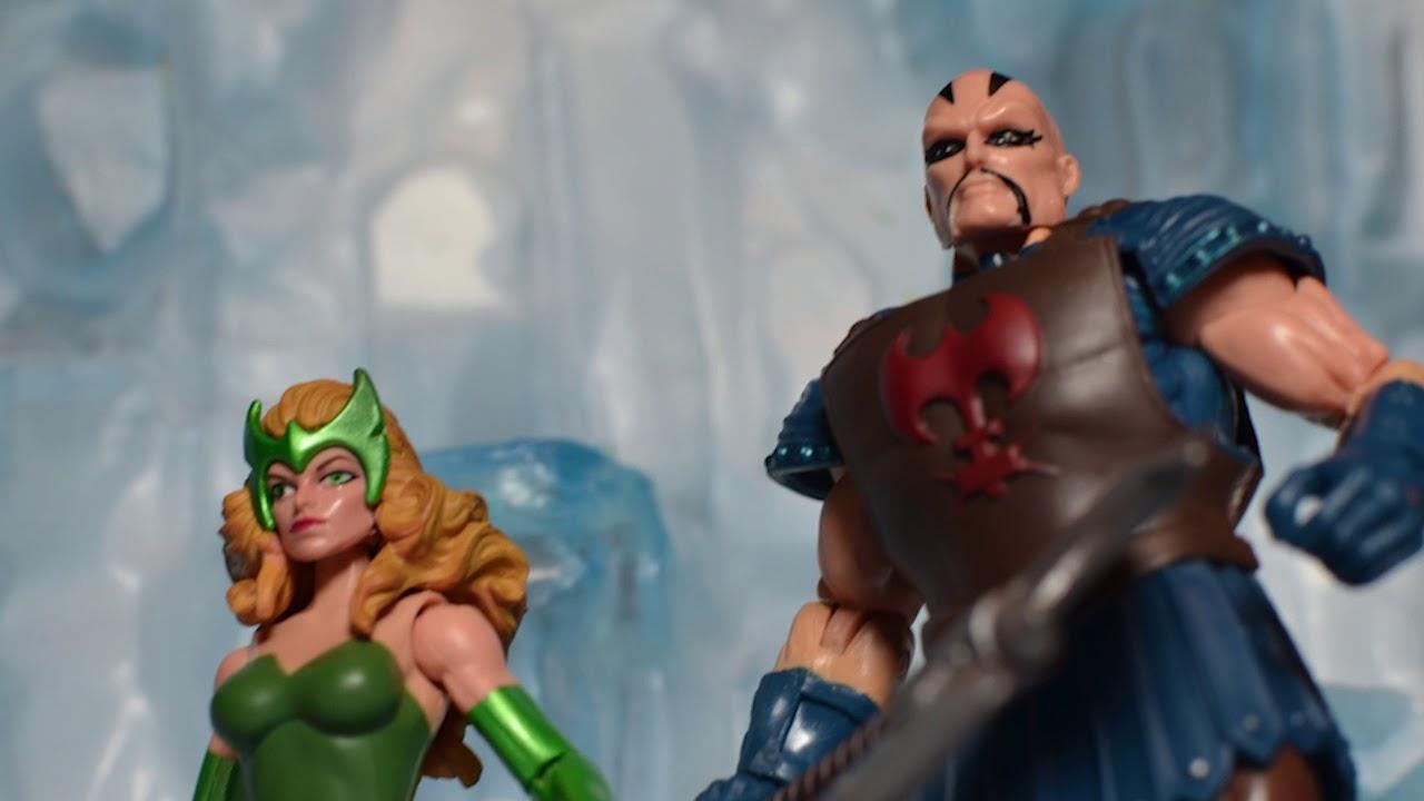 Marvel Legends Thor Ragnarok Executioner Marvel/'s Enchantress 2pack 3.75inch