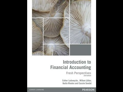 Financial Accounting 1 August exam 2016 Question 1
