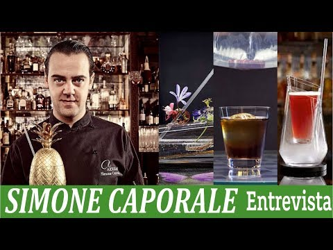 Simone Caporale Artesian Bar • Interview