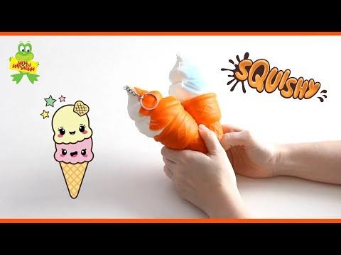 Игрушки антистресс сквиши мороженое   squishy