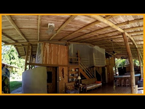 HOUSE AND FARM TOUR: FUENTE VERDE ECO COMMUNITY COSTA RICA