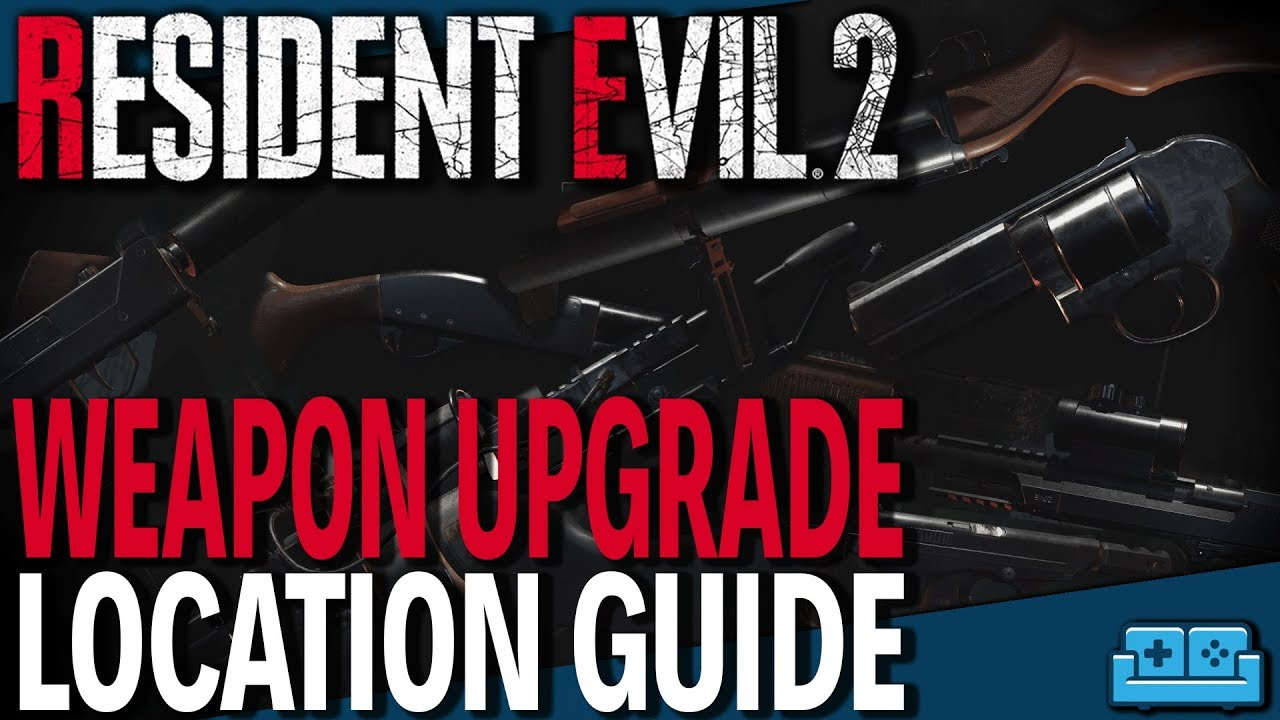 RESIDENT EVIL 2 REMAKE | ALL WEAPON UPGRADES GUIDE