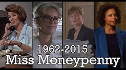 All the Miss Moneypenny scenes 1962 - 2015