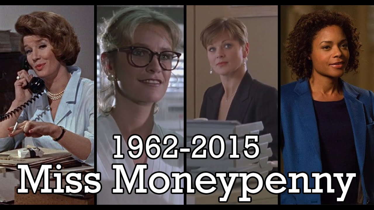 All The Miss Moneypenny Scenes 1962 2015 Youtube