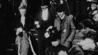 مارسیل بروست أيقونة الأدب الفرنسي يظهر في فيلم يعود للعام 1904