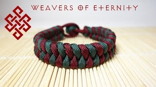 How to Make a Fishtail Paracord Bracelet with NO BUCKLES