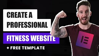 How to Create a Fitness Website in Wordpress | Fitness Business Landing Page (Free Template)