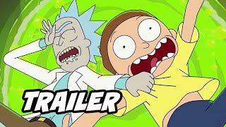 Rick and Morty Season 5 Teaser Trailer 2020 - New Episodes Breakdown and Easter Eggs