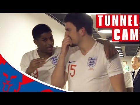 Inside Access as Lingard Fires England to Victory! | Tunnel Cam | Netherlands 0-1 England