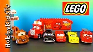 LEGO Mack Truck, Lightning McQueen, Mater, Duplo Box Open Duplo (5816)