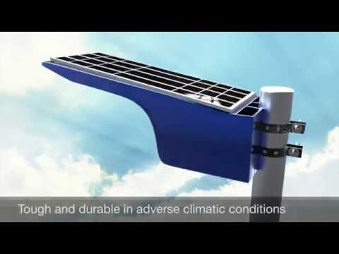 COMMLIGHT - the most advanced all-in-one solar light