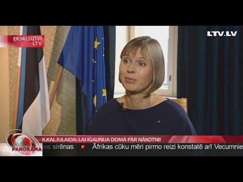 Kersti Kaljulaida: Lai Igaunija domā par nākotni!