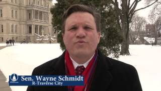 Sen. Schmidt promotes Michigan Winter Tourism