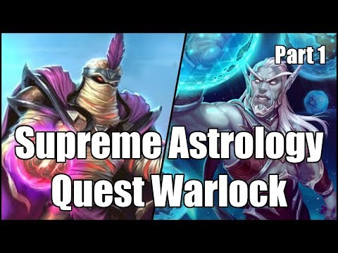 [Hearthstone] Supreme Astrology Quest Warlock (Part 1)