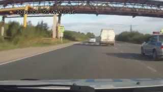 Пьяный водитель микроавтобуса 'Баргузин' при задержании оказывал сопротивление
