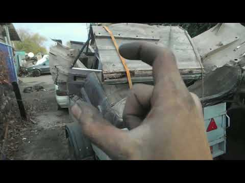Сдаем кузов Жигули на металоприемку / Сколько весит и сколько выручим?