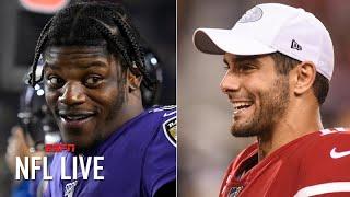 Is Ravens vs. 49ers a Super Bowl preview?   NFL Live