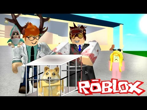 Figurine Roblox Fete Scientists Took Her Dog Roblox Roleplay Villain Series Episode 6 Youtube