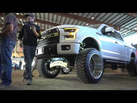 American Force Wheels take over Lone Star Throwdown and Zephyr polishes supplies the shine!