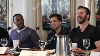 Chris Evans, Anthony Mackie and Sebastian Stan being Bestfriends part 2 ! EvanStackie