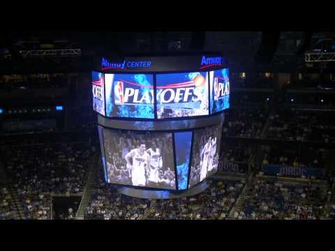 2011 Orlando Magic Playoff Intro 1st Round Game 2