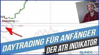Daytrading für Anfänger Wie funktioniert der ATR Indikator